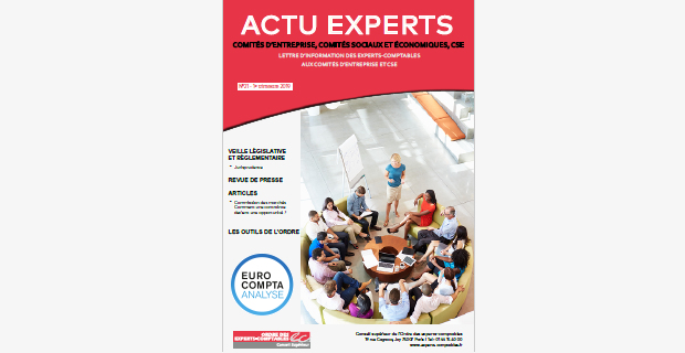 Actu Experts CSE N°26 – 2ème trimestre 2020